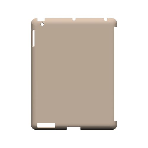 S13 Pantone Linen - Geeks Designer Line Pantone Color Series Hard Case for Apple iPad (3rd & 4th Gen.)