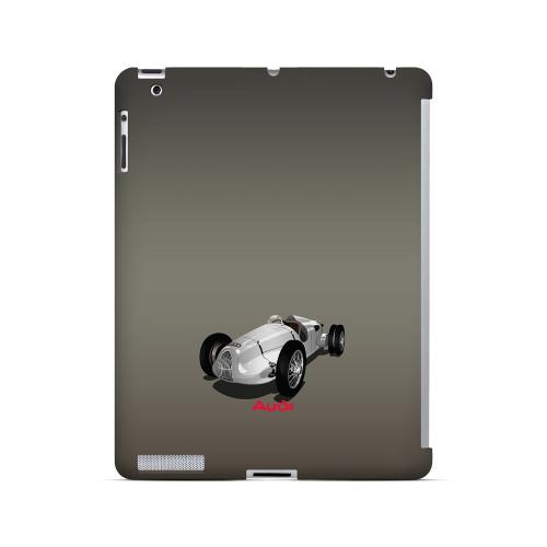 Classic Audi Race Car - Geeks Designer Line Auto Series Hard Case for Apple iPad (3rd & 4th Gen.)