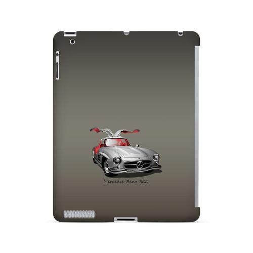 Classic Benz 300 Fade - Geeks Designer Line Auto Series Hard Case for Apple iPad (3rd & 4th Gen.)