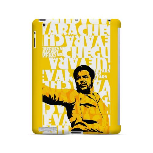 Che Guevara Discurso Pure Yellow - Geeks Designer Line Revolutionary Series Hard Case for Apple iPad (3rd & 4th Gen.)