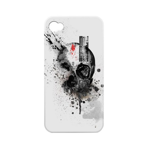 Geeks Designer Line (GDL) Apocalyptic Series Apple iPhone 4/4S Matte Hard Back Cover - Deconstruction
