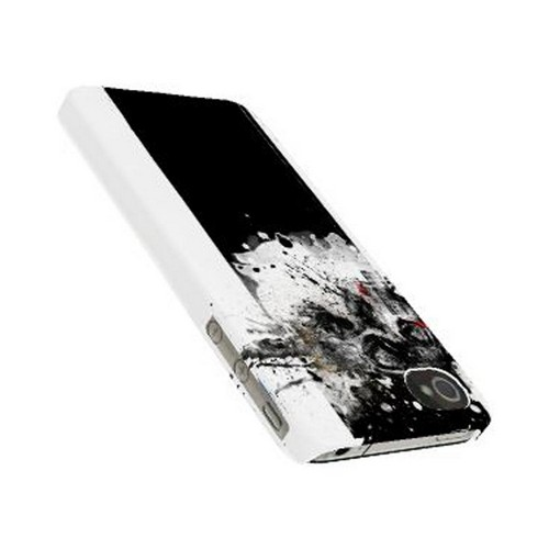 Geeks Designer Line (GDL) Apocalyptic Series Apple iPhone 4/4S Matte Hard Back Cover - The Plague
