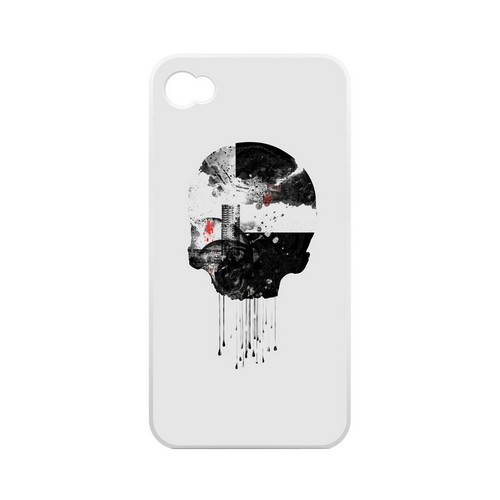 Geeks Designer Line (GDL) Apocalyptic Series Apple iPhone 4/4S Matte Hard Back Cover - Skyfall