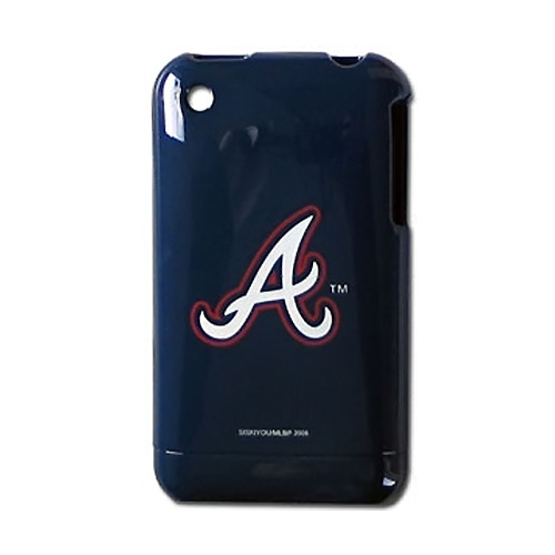 MLB Licensed Apple iPhone 3G 3GS Hard Case - Atlanta Braves