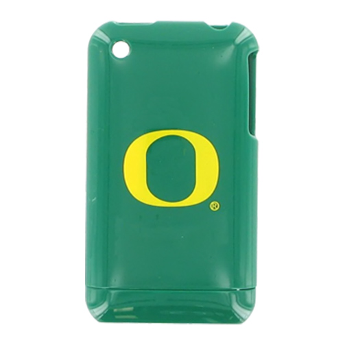 NCAA Licensed Apple iPhone 3G Hard Case - Oregon Ducks