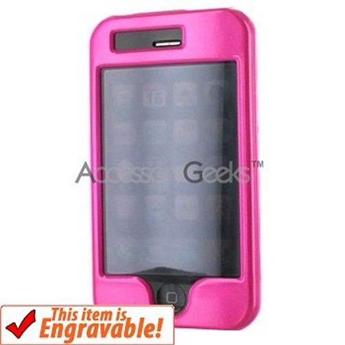 Apple iPhone 3G Hard Case - Hot Pink