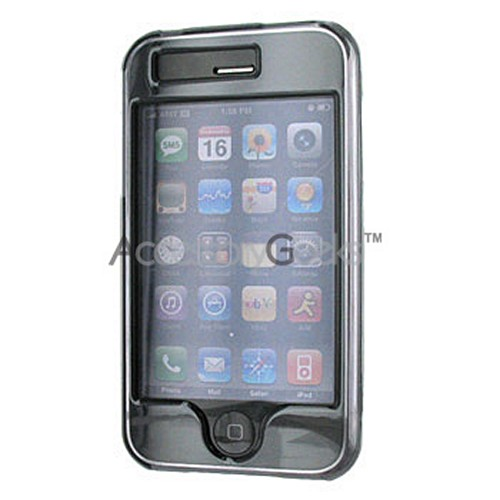 Apple iPhone 3G Hard Case - Transparent Smoke