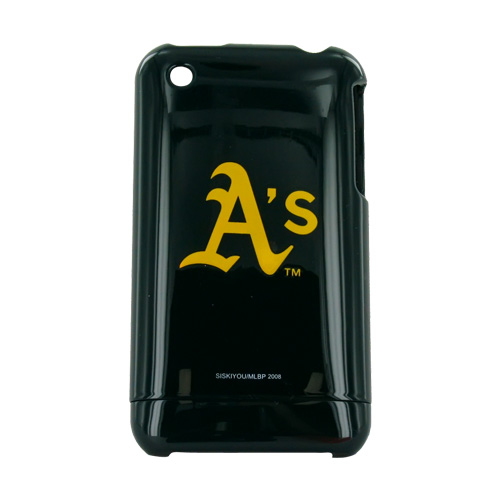 MLB Licensed Apple iPhone 3G 3GS Hard Case - Oakland Athletics