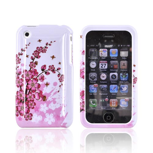 Apple iPhone 3G Hard Case - Spring Flowers
