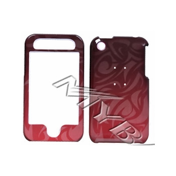Apple iPhone 3G Hard Case - Faded Red Tribal