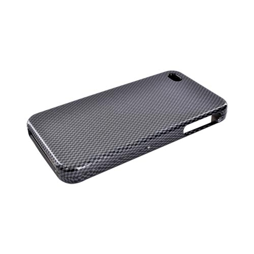 Apple Verizon/ AT&T iPhone 4, iPhone 4S Hard Case - Carbon Fiber