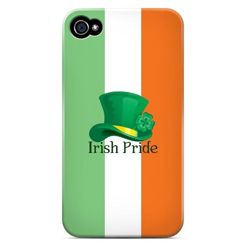 Irish Pride - Geeks Designer Line Holiday Series Matte Case for Apple iPhone 4/4S
