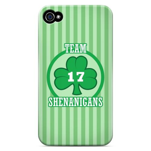 Team Shenanigans - Geeks Designer Line Holiday Series Matte Case for Apple iPhone 4/4S