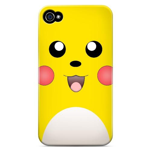 Bunnichu - Geeks Designer Line Toon Series Matte Case for Apple iPhone 4/4S