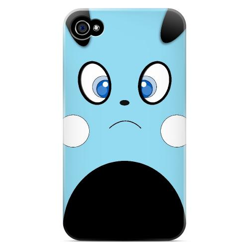 Puppichu - Geeks Designer Line Toon Series Matte Case for Apple iPhone 4/4S