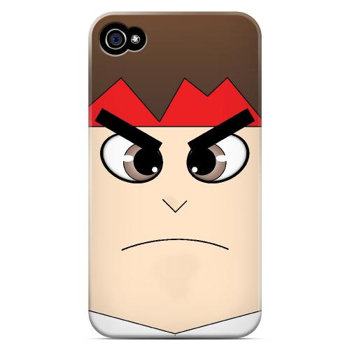 Hadoryu - Geeks Designer Line Toon Series Matte Case for Apple iPhone 4/4S