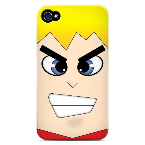 Shoken - Geeks Designer Line Toon Series Matte Case for Apple iPhone 4/4S