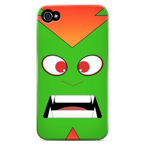 Electric Beast - Geeks Designer Line Toon Series Matte Case for Apple iPhone 4/4S