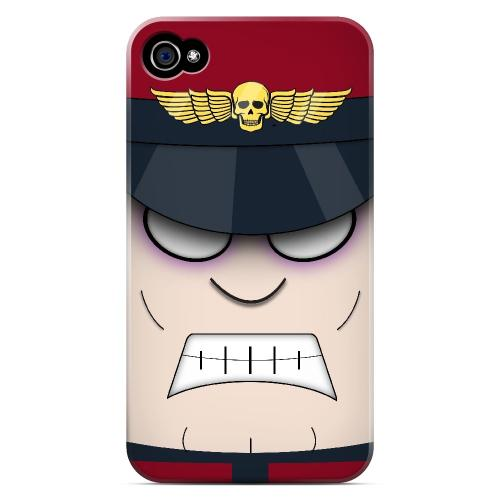 M. Trison - Geeks Designer Line Toon Series Matte Case for Apple iPhone 4/4S