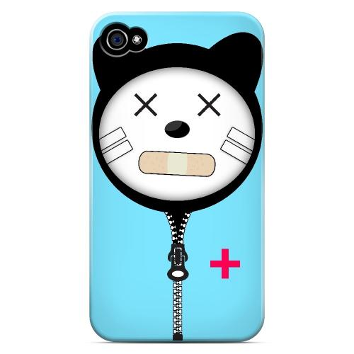 Calamikitty - Geeks Designer Line Hoodie Kitty Series Matte Case for Apple iPhone 4/4S