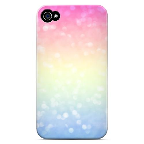 Pale Prismatic - Geeks Designer Line Ombre Series Matte Case for Apple iPhone 4/4S