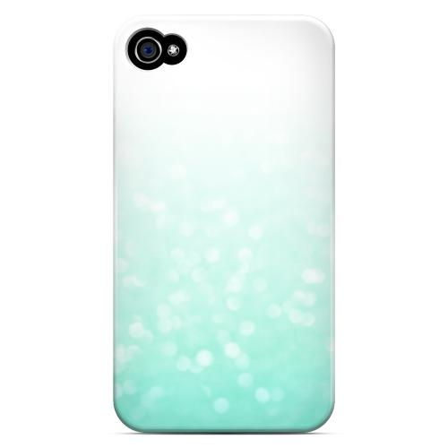 Crystal Menthe - Geeks Designer Line Ombre Series Matte Case for Apple iPhone 4/4S