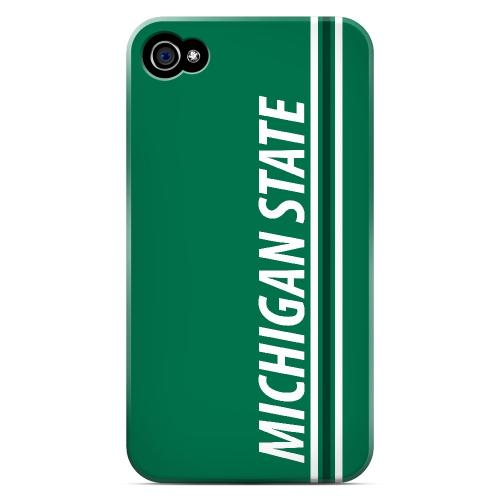Michigan State - Geeks Designer Line March Madness Series Matte Case for Apple iPhone 4/4S