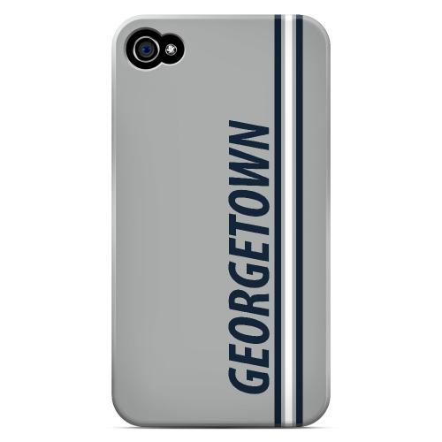 Georgetown - Geeks Designer Line March Madness Series Matte Case for Apple iPhone 4/4S
