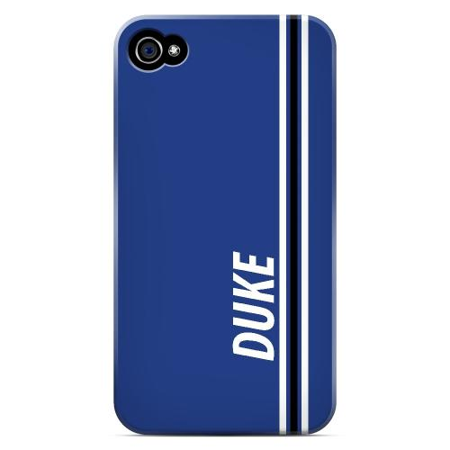 Duke - Geeks Designer Line March Madness Series Matte Case for Apple iPhone 4/4S