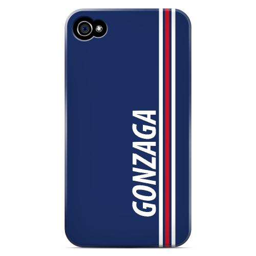 Gonzaga - Geeks Designer Line March Madness Series Matte Case for Apple iPhone 4/4S