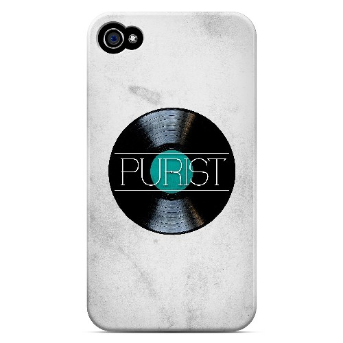 Purist - Geeks Designer Line Music Series Matte Case for Apple iPhone 4/4S