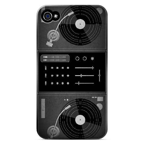 Turntabliss - Geeks Designer Line Music Series Matte Case for Apple iPhone 4/4S