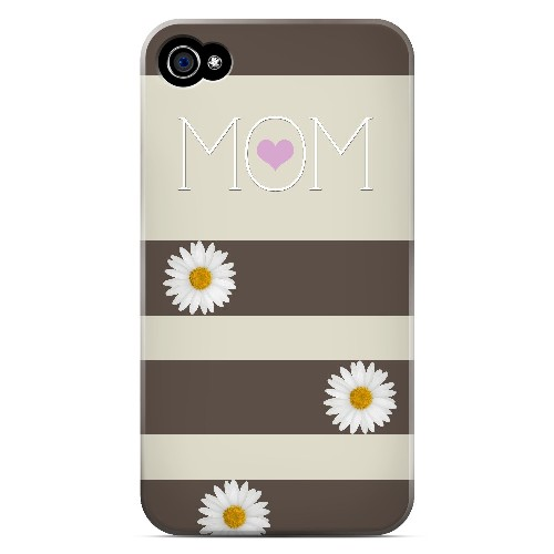 Mom Daisy - Geeks Designer Line Mom Series Matte Case for Apple iPhone 4/4S