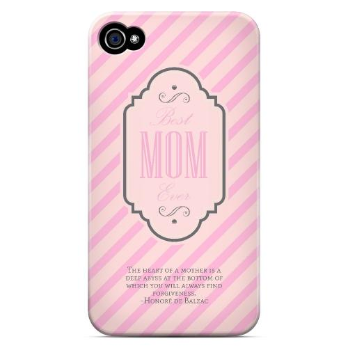 Mom Deep Abyss - Geeks Designer Line Mom Series Matte Case for Apple iPhone 4/4S