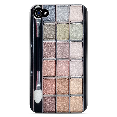 Make Up - Geeks Designer Line Humor Series Matte Case for Apple iPhone 4/4S