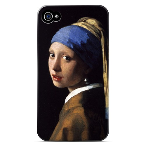 Girl with a Pearl Earring by Jan Vermeer - Geeks Designer Line Artist Series Matte Case for Apple iPhone 4/4S