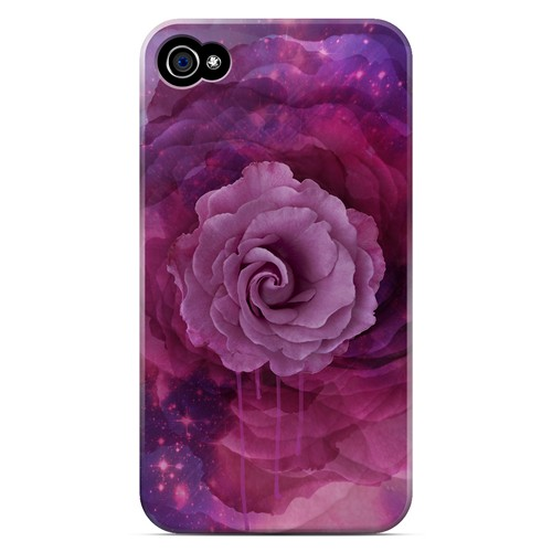 Space Bloom - Geeks Designer Line Spring Series Matte Case for Apple iPhone 4/4S