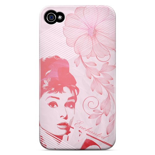Enchanted - Geeks Designer Line Spring Series Matte Case for Apple iPhone 4/4S