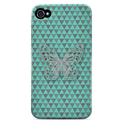 Butterfly Crypsis - Geeks Designer Line Spring Series Matte Case for Apple iPhone 4/4S