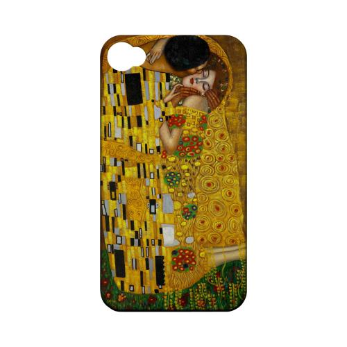 Gustav Klimt The Kiss Geeks Designer Line Artist Series Matte Hard Case for Apple iPhone 4/4S