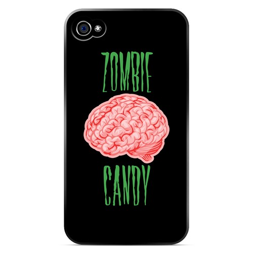 Zombie Candy - Geeks Designer Line Apocalyptic Series Matte Case for Apple iPhone 4/4S