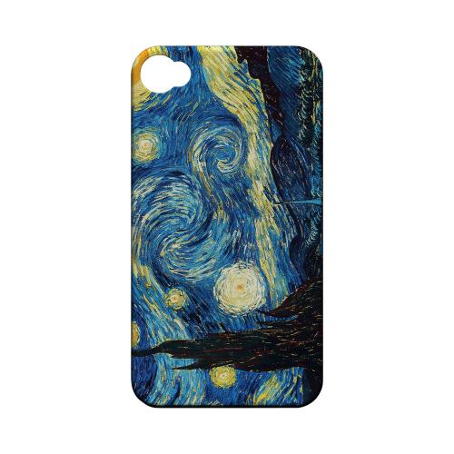 Vincent Van Gogh Starry Night Geeks Designer Line Artist Series Matte Hard Case for Apple iPhone 4/4S