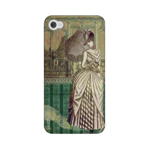 Glossy Southern Belle Americana Nostalgia Series GDL Ultra Matte Hard Case for iPhone 4/4S Geeks Designer Line