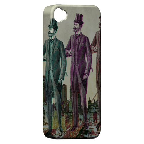 New York Like A Sir Americana Nostalgia Series GDL Ultra Matte Hard Case for Apple iPhone 4/4S Geeks Designer Line
