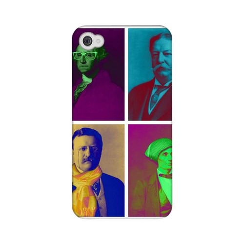Glossy Hip Before It Was Cool Americana Nostalgia Series GDL Ultra Matte Hard Case for iPhone 4/4S Geeks Designer Line