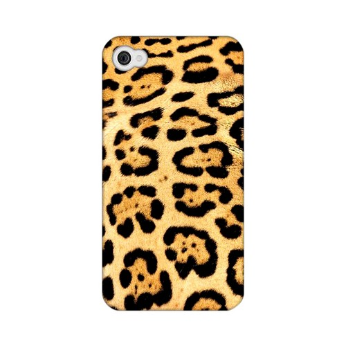 Jaguar Print Animal Series GDL Ultra Matte Hard Case for Apple iPhone 4/4S Geeks Designer Line