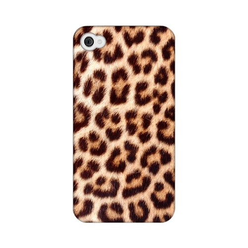 Leopard Close-Up Print Animal Series GDL Ultra Matte Hard Case for Apple iPhone 4/4S Geeks Designer Line
