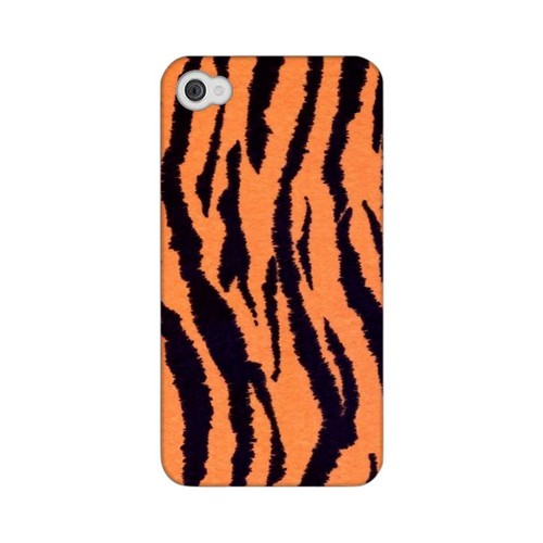 Tiger Print Animal Series GDL Ultra Matte Hard Case for Apple iPhone 4/4S Geeks Designer Line