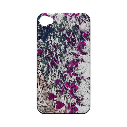 Feather Love - Geeks Designer Line (GDL) Apocalyptic Series Matte Back Cover for Apple iPhone 4/4S