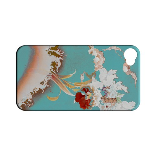 Flower Wave - Geeks Designer Line (GDL) Apocalyptic Series Matte Back Cover for Apple iPhone 4/4S